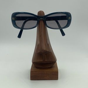 Calvin Klein Blue Oval Sunglasses Frames